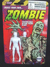 Create Your Own ZOMBIE - 4 inch Customizable Figure Blank - EYE OUT of HEAD