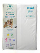 WetGuard King Size Waterproof Mattress Protector Cover Fitted New Non Allergic