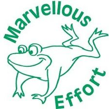 Marvellous Effort - Self inking teacher reward xstamper stamp