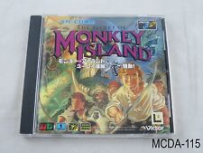 The Secret of Monkey Island MegaCD Japanese Import Sega CD Mega Drive US Seller