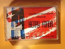 ROAD TO PHILADELPHIA TAPE Henry Fonda American History Declaration Independence