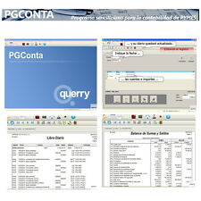 PGCONTA - PROGRAMA CONTABILIDAD - SOFTWARE CONTABLE