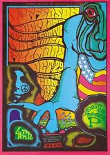 Jefferson Airplane 1967 A3 Cartel