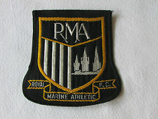 RMA Royal Marine Athletic FC inutilizzati Sew Su Panno Blazer FOOTBALL CLUB BADGE