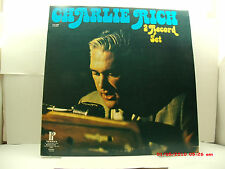 CHARLIE RICH-(DOUBLE LP)-LP-1-ROCK-A-BILLY FLAVOR // LP-2-COUNTRY-  EARLY 1970'S