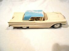 1958 Ford Thunderbird Promo Car AMT metal carriage friction driven