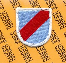 20th Special Forces Group Airborne SFGA ARNG beret flash patch #2-H m/e