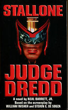 Judge Dredd by Neal, Jr. Barrett-First Edition-1995-Stallone Movie Tie-In