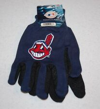 ADULTS CLEVELAND INDIANS MLB ALL PURPSOE/UTILITY WORK GLOVES