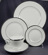 WEDGWOOD STERLING Made In England 5 Pc Place Setting(Dinner,Salad,B&B,Cup,Saucer