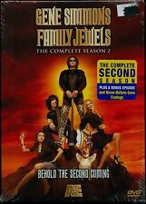 KISS GENE SIMMONS FAMILY JEWELS THE COMPLETE SEASON 2 NEW 3 DVD + BONUS EPISODE