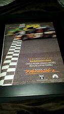 Days Of Thunder Rare Academy Awards Promo Poster Ad Framed!