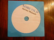 Norcold AC -DC -Gas refrigerator repair manuals  on CD-ROM, PDF