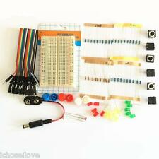 Electronics Part Pack Kit Kit-5 For Arduino Starter LEDs Board Resistor Switch