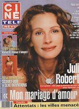 CINE REVUE (belge) 2002 N°28 julia roberts sarah michelle gellar
