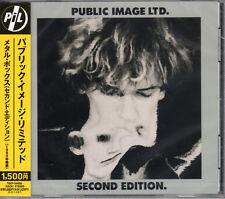 PUBLIC IMAGE LTD-METAL BOX SECOND EDITION-JAPAN CD C75