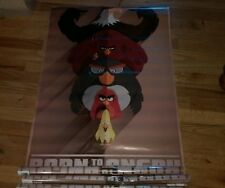 BORN TO BE ANGRY BIRDS POSTER MOVIE VIDEO GAME TOY WALL ART NEW SEALED KIDS ROOM