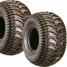 2) 22/11-10 22x11-10 ATV Go Kart Golf Cart Tires 4ply