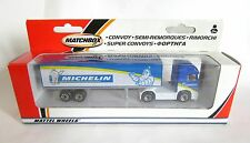 Matchbox Convoy CY-9 Mercedes Benz Actross Box Truck - Michelin - Min/Boxed