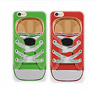Shoe Trainer Sneaker Apple iphone 5C 6 6 Plus Back Cover Case Silicone Gel
