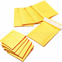 300 Gold Bubble Lined Padded Bags Envelopes 170x245mm PP4