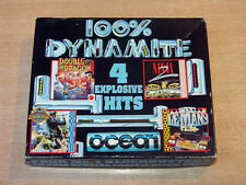 Sinclair ZX Spectrum - 100% Dynamite by Ocean / Last Ninja 2 / Double Dragon