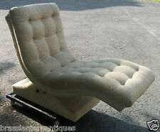 """Adrian Pearsall Motorized """"Wave"""" Chaise Lounge Mid Century Modern"""