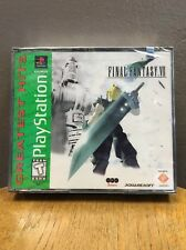 Final Fantasy VII (Sony PlayStation 1, 1997) Brand NEW/Factory Sealed!!!