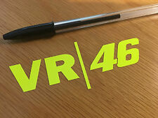 Rossi VR/46 Decal - Fluorescent Yellow