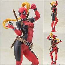 Marvel Bishoujo Statue Lady Deadpool 22cm PVC Action Figure Model Toy Gift