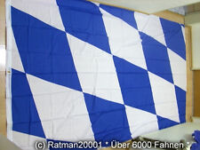 Fahnen Flagge Bayern Raute  - 1  - 150 x 250 cm
