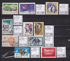 Sowjetunion 1963/64 aus Mi 2720 - 2900 gestemp. (#15)