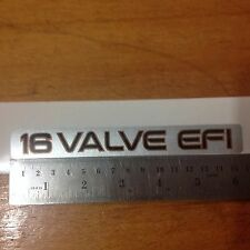 16 Valve EFI Toyota Corolla 93-97 SOHC 1.6L 4A-FE Engine, sticker decal, jdm