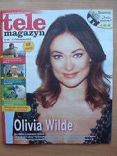 Tele Magazyn 44/2013 OLIVIA WILDE on front cover