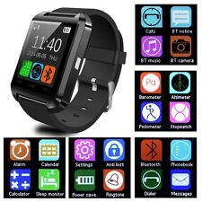 Black U8 Smart Watch Bluetooth Phone Mate For IOS Android HTC Iphone Samsung TS