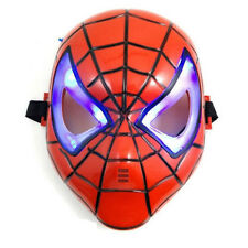 Spiderman Mask Kids Superhero Fancy Dress Hero Spider Man Masks Marvel LED Eye