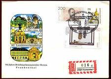West Germany 1994, 70 Years Philatelist Club Frankenthal Registered Cover#C36556