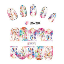 Nail Art Manicure Water Transfer Decal Stickers Dreamcatcher BN304
