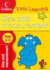Easy Learning Size and Measurement age 3-5 Book - Harper Collins
