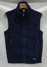 Patagonia Mens Synchilla Fleece Vest 25185 Classic Navy Size Extra Small