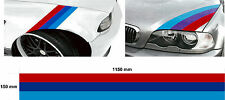 Car decal graphic stripe BMW M3 sport E30 E36 E46 E60 330 320  bonnet side boot