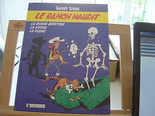 LUCKY LUKE LE RANCH MAUDIT EO1986 TBE/TTBE