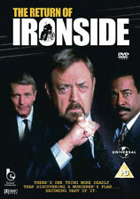 The Return of Ironside NEW PAL/NTSC Cult DVD G. Nelson Raymond Burr Don Galloway