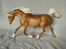 Breyer Horse Statue OOAK CM/Custom Arabian (Weather Girl) Dappled Palomino