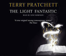 The Light Fantastic Discworld Novel 2 by Terry Pratchett Audio CD X 3 CDs