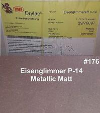 PULVERLACK 1kg Beschichtungspulver Pulverbeschichtung Eisenglimmer P-14 Metallic