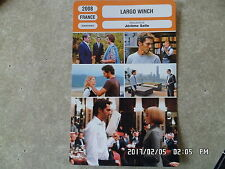 CARTE FICHE CINEMA 2008 LARGO WINCH Tomer Sisley Kristin Scott Thomas