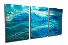 Abstract Metal Wall Art- Contemporary Modern Decor Original Caribbean