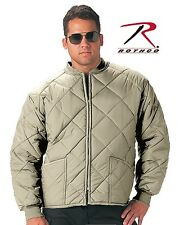 BIG SIZE Diamond Quilted Flight Jacket 4X, 5X 6X, 7X  GREY, OD GREEN ROTHCO 7171