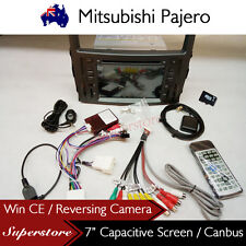 "7"" Car DVD GPS Player Navigation Head Unit For Mitsubishi Pajero 2006-2015"
